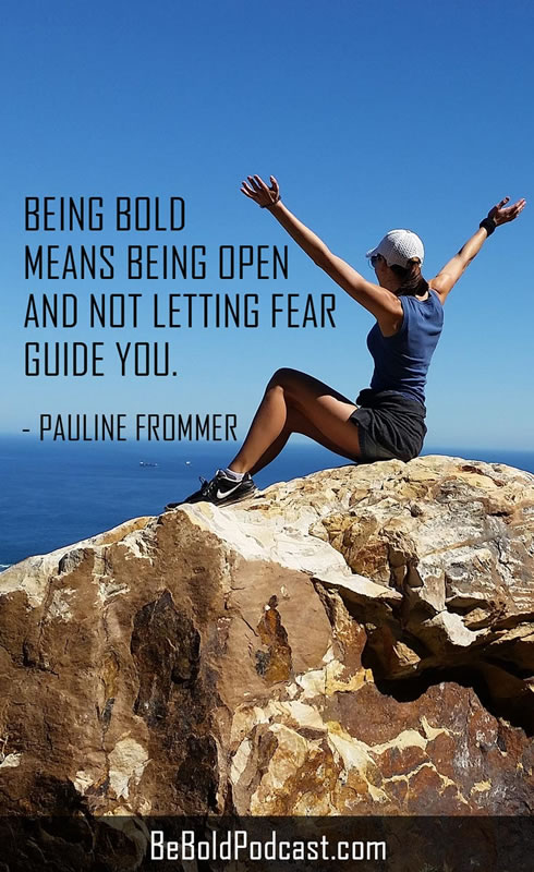 pauline frommer be bold