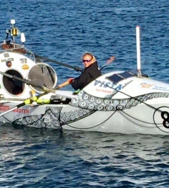 Ocean Rower Megan Biging